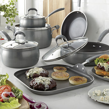 Cooks Contour Belly Diamond 10-PC. Cookware Set