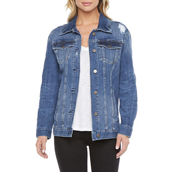 a.n.a. Tall Midweight Denim Jacket