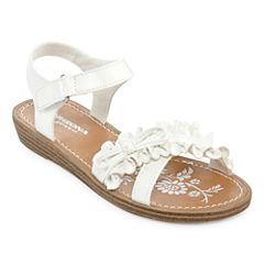 Arizona Pep Girls Flat Sandals - Little Kids