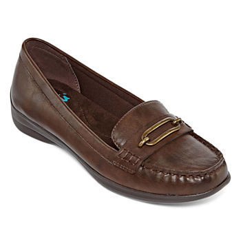 5fc6033b6b5 Brown Women s Flats   Loafers for Shoes - JCPenney