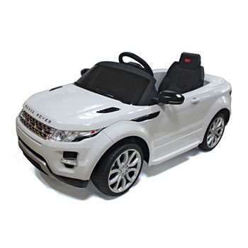 Rastar Land Rover Evoque 12V Car - White