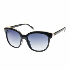 Nicole By Nicole Miller Full Frame Cat Eye UV Protection Sunglasses-Womens