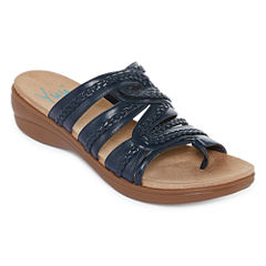 Yuu Dansa Womens Slide Sandals
