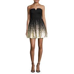 B. Smart Sleeveless Evening Gown-Juniors
