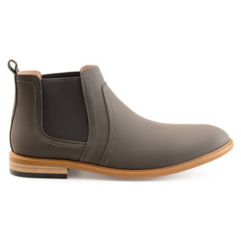 0d361eb744d Vance Co Gray Men s Boots for Shoes - JCPenney