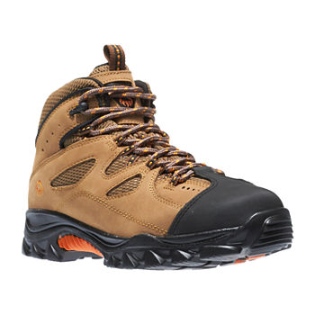 725afdba55b Wolverine Mens Hudson Steel ToeLace-up Work Boots