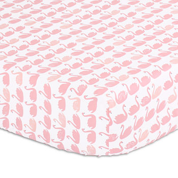 The Peanut Shell Pink Baby Bedding For Baby Jcpenney