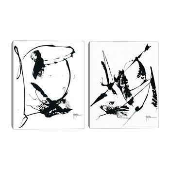Dan Houston Memories Set of 2 11x14 Canvas Art
