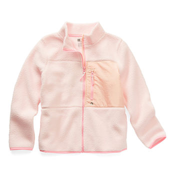Xersion Little & Big Girls Sherpa Midweight Jacket