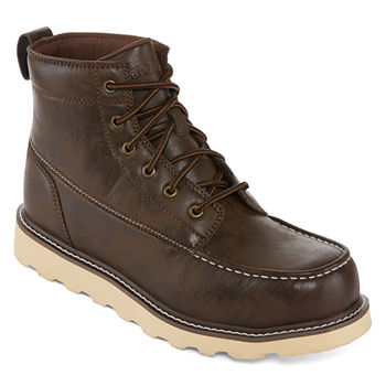 3367b5d76ebe Memory Foam Men s Work Shoes for Shoes - JCPenney