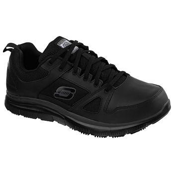Skechers Mens Flex Advantage Slip On Shoe Round Toe Wide Width