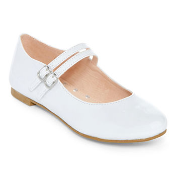 Girls White Dress Shoes - JCPenney aaf488091f4f