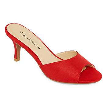 e21052b67bb CL by Laundry Womens Joie Heeled Sandals. Add To Cart. New. Red