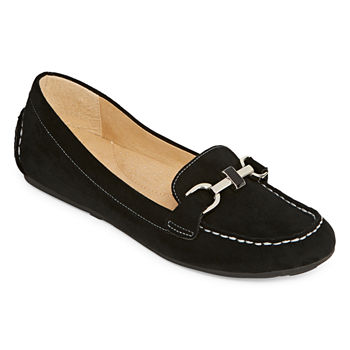 1c87f4c9b9dab Loafers Black All Women s Shoes for Shoes - JCPenney