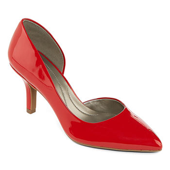 308aeb22c3b Shoes Red Women s Pumps   Heels for Shoes - JCPenney
