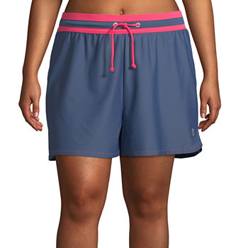 0125527da1683 Plus Size Swim Shorts Swimsuits   Cover-ups for Women - JCPenney