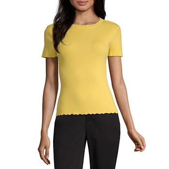 Yellow Sweaters   Cardigans for Women - JCPenney 47fddb121