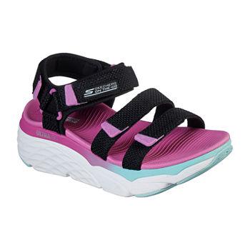 Skechers Max Cushioning Slay Womens Footbed Sandals