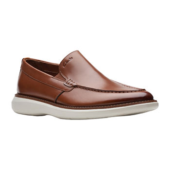 Clarks Mens Brantin Step Loafers