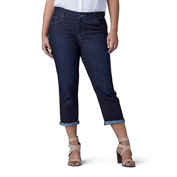 13317abe3ba Lee Plus Size Capris   Crops for Women - JCPenney