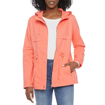St. John's Bay Tall Twill Lightweight Anorak