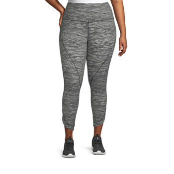 Xersion Studio Womens High Rise 7/8 Ankle Leggings Plus
