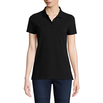 0e8f93b7dad St. John s Bay Polo Shirts Tops for Women - JCPenney