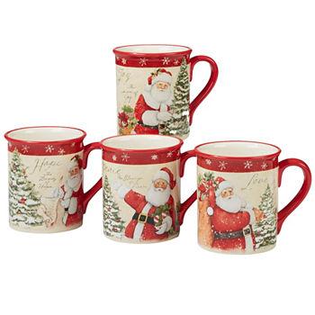 3824 - Christmas Coffee Cups