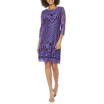 276ed58ded84 CLEARANCE Purple Dresses for Women - JCPenney