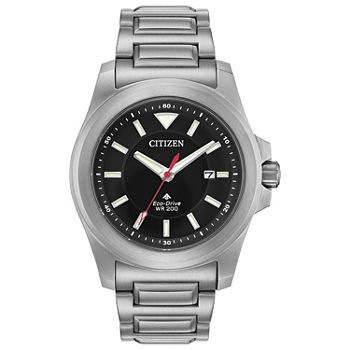 Citizen Promaster Tough Mens Silver Tone Stainless Steel Bracelet Watch - Bn0211-50e