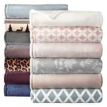 Lightweight Blankets Throws For Bed Bath JCPenney Magnificent Lightweight Cotton Throw Blanket