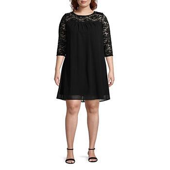 Plus Size Shift Dresses Dresses For Women Jcpenney