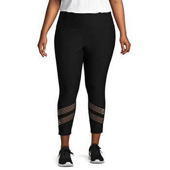 bceb77267ab91 Plus Size Workout Capris Activewear for Women - JCPenney