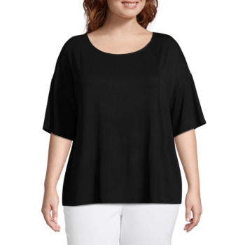 Worthington Plus Size Tops For Women Jcpenney
