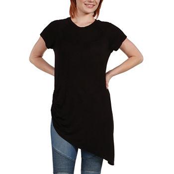 best selling low price sale good looking 24/7 Comfort Apparel Zola Asymmetric Short Sleeve Tee