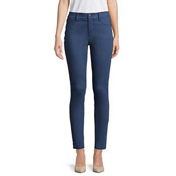 St John S Bay Skinny Leg Jeans For Women Jcpenney