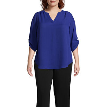 171aa40ed03 Worthington Plus Size Tops for Women - JCPenney