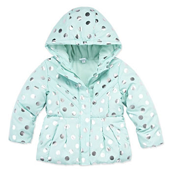 dc3c7ae8ffa Regular Size Dots Coats   Jackets for Kids - JCPenney