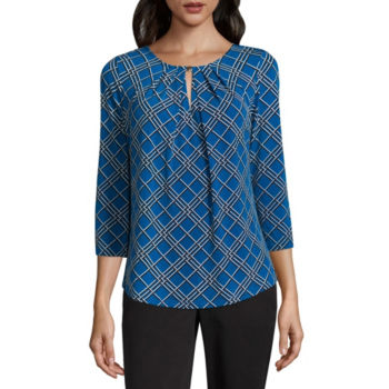 Keyhole Neck Tops For Women Jcpenney