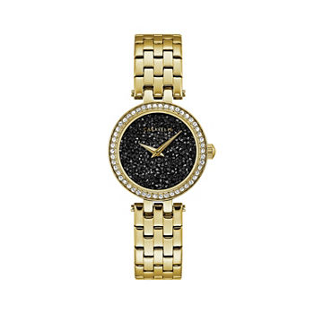 Caravelle Designed By Bulova Womens Gold Tone Stainless Steel Bracelet Watch - 44l243
