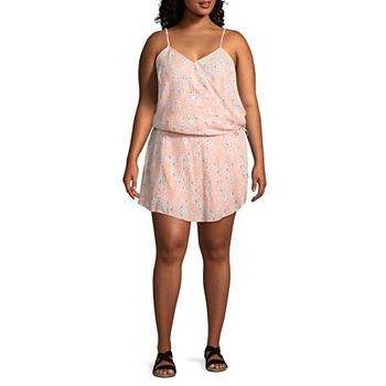 2d739e2cef56 Juniors Plus Size Sleeveless Jumpsuits   Rompers for Women - JCPenney