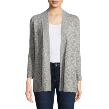 St Johns Bay 34 Sleeve Sweaters Cardigans For Women Jcpenney