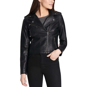 b076ef8258563 Faux Leather Jackets for Women