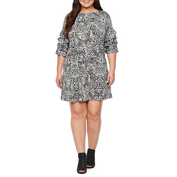fc2a9df520c CLEARANCE Plus Size Dresses for Women - JCPenney