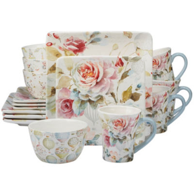 Certified International Beautiful Romance 16-pc. Dinnerware Set  sc 1 st  JCPenney & Beige Dinnerware For The Home - JCPenney