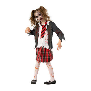 Girls Zombie School Costume Girls Costume Girls Costume