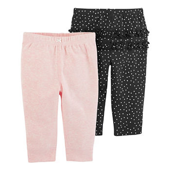 88326589dc37 Pants Baby Girl Clothes 0-24 Months for Baby - JCPenney