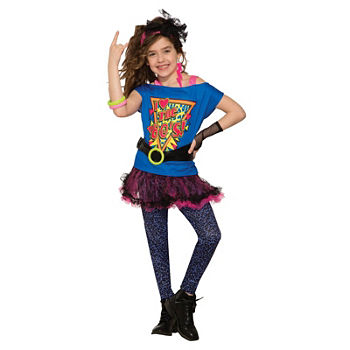 Girls Totally 80'S Costume Girls Costume Girls Costume