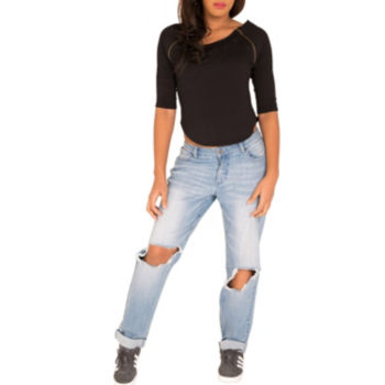 Misses Size 3 4 Sleeve Tops For Women Jcpenney