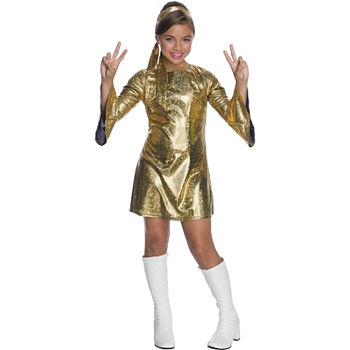 Girls Hologram Disco Diva Costume Girls Costume Girls Costume